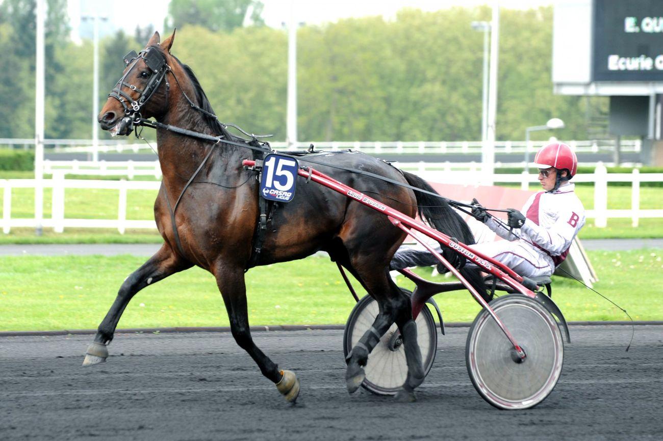 Samedi 05 Mai 2012;Paris-vincennes;PRIX CRITERIUM DES 4 ANS - G1;Louis BAUDRON;SCOOPDYGA -